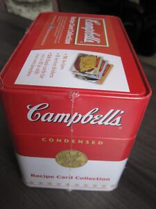 Recipe Card Collection, Campbells, Brand New..REDUCED Kitchener / Waterloo Kitchener Area image 2