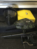 Paintball gun for sale, with electronic hopper