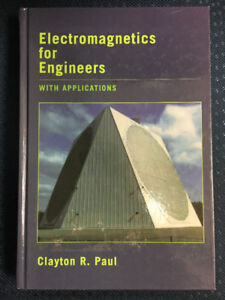 Electromagnetics for engineers with applications