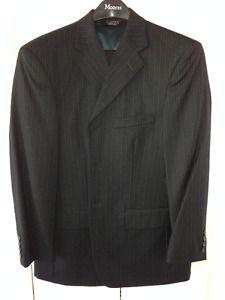 Alfred Sung Navy Suit