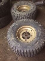 22x-11.00-10 tires and rims
