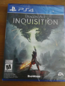 Brand new Dragon Age Inquisition PS4