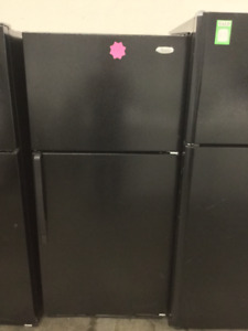 "30"" Beautiful Black Fridge"