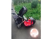 Mamas papas Baby push-chair and carseat+free cushion