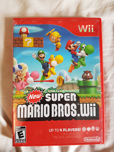 New Super Mario Bros Wii Tested(Sale/Trade)