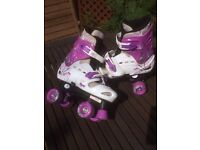Girls roller skates - hardly used
