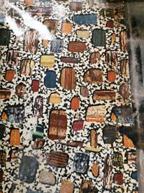 VINTAGE LINOLEUM RECLAIMED LINO CLASSIC RETRO FLOORING 1960'S