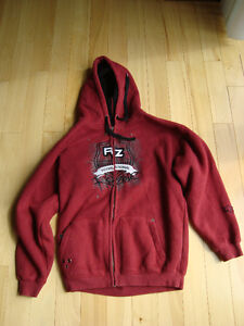 Ripzone Red Hoodie Sweater -Mint Shape -Boys X-Large Only $16.50