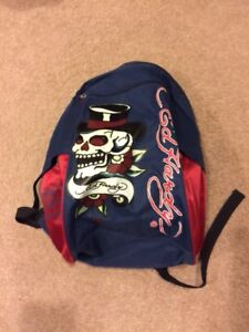 Small Ed Hardy Backpack Bag