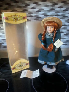 "17"" Collectible Anne of Green Gables Porcelain Doll"