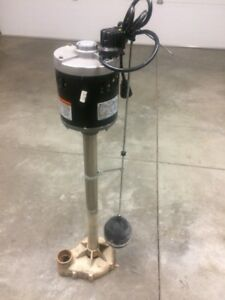 Sump Pump 1/2hp External $50