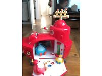 Twirlywoos big red boat and figures