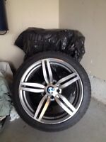 BMW winter wheels and tires