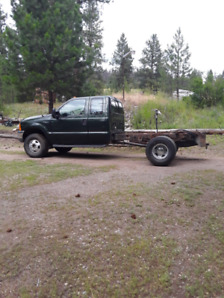 2000  f350 dually 4x4  cab and chassis