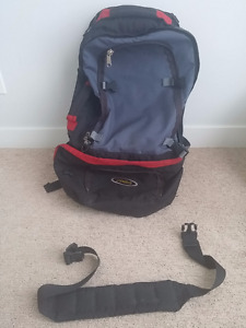 ASOLO 75 L entire pack zip travel backpack