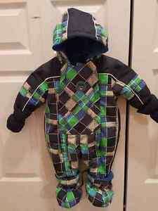 New baby snow suit for boys. Free jacket.