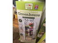 Hexagon framed green house Brandnew new possible delivery