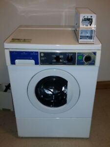 GE coin op front load washer