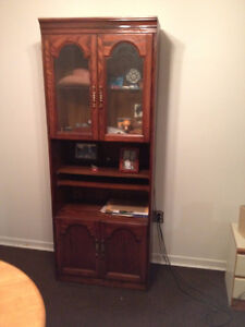Two old wall units side by side or seperate fast sale