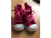 Infant Size 4 Converse Pink