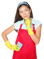 CLEANING LADY TODAY/TOMORROW/ANYDAY: BRAMPTON/MISSISSAUGA  $25+