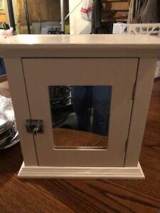 Vanity Mirror and Medicine Cabinet