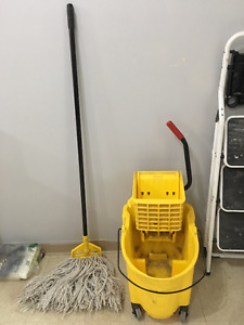Commercial Mop and Bucket