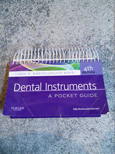Dental Instruments: A Pocket Guide 4th Ed. West Island Greater Montréal image 1