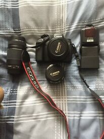 Canon 6D + Lenses and flash shutter count 358