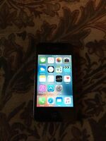 iPhone 4s 8gb black great condition for telus