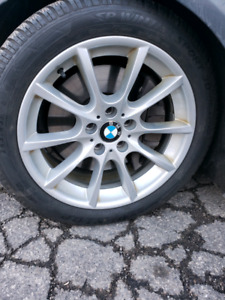 Bmw 5 series 6 series and X6 OEM Rims and winter tires