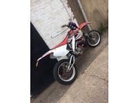 Cr 125 super Moto ktm cbt