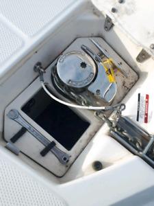 Ancre electrique bateau