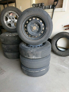 4 Summer Tires on Rims