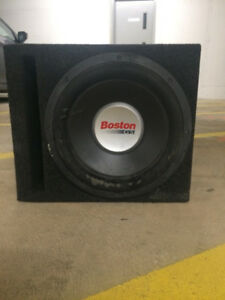 Boston Acoustics G5 12' Subwoofer W/ Box!