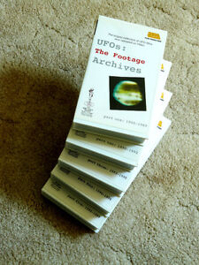 Rare set of 5 VHS tapes for the UFO buff