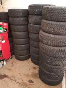 Winter snow tires and rims