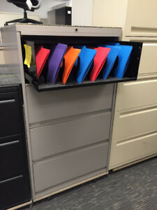 Filing and Multi Use Cabinets - Variety of Sizes and Colours