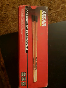 NEW Aircair Carbon Rods, 50 copper-clad carbon rods in box.