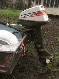 Johnson hors-bord/ outboard 6 hp.