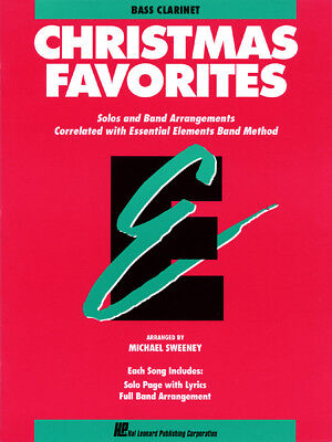 Essential Elements Christmas Favorites Bass Clarinet - Band Folios 862505