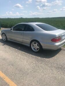 REDUCED! 1999 Mercedes-Benz CLK430 - V8, FAST! AMG  rims