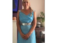bridesmaid evening gown ball