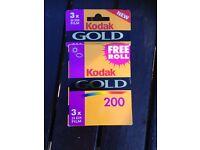 Kodak Gold 200 Vintage camera Film