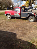 1990 ford tow truck 7.3l diesel