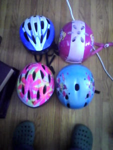 Youth bicycle and/winter sports helmets