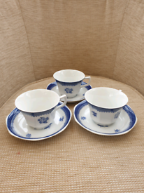 Wedgewood Springfield cups and saucers.
