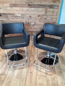 Selling two Professional Hair Salon Chairs- Hydraulic
