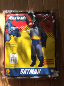 Super cool never worn Batman Halloween costume! (Size 2-4Y)