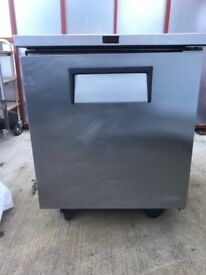 True 1 door Prep counter TUC-27F